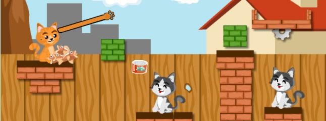 لعبة طعام القطط