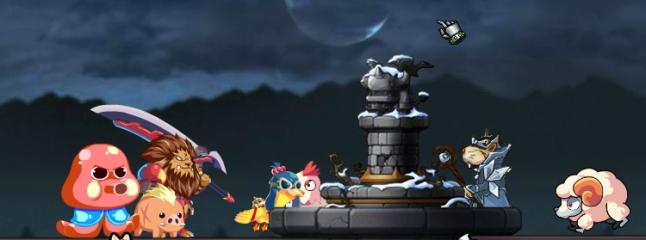 لعبة حماية القلعة من الوحوش