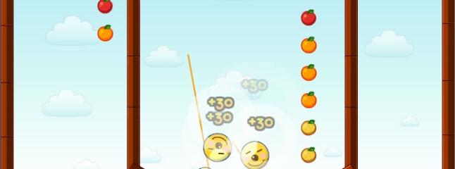 لعبة فقاعات الفاكهة