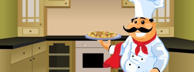 لعبه طبخ بيتزا الخضار