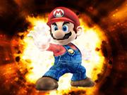 لعبة ماريو في البركان