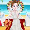 تلبيس عروسة علي البحر