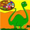 لعبة تلوين الدينصور الكبير